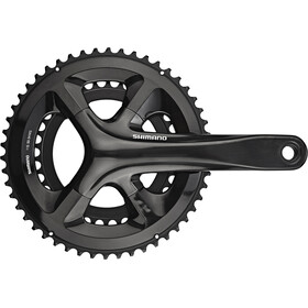 Shimano Road FC-RS510 Crankset 2x11-speed 50-34 tanden, black